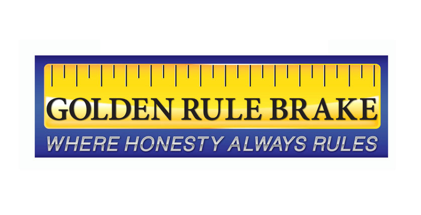 Golden Rule Brake Logo